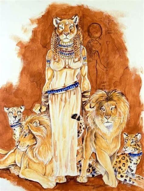 ancient egyptian goddess sekhmet sekhmet goddesses and gods pinterest