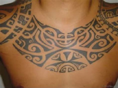 polynesian chest tattoo 55 tribal tattoos for chest
