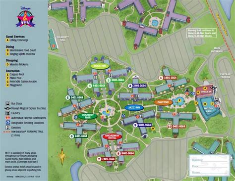 all resort map preferred rooms review disney s all resort