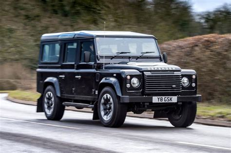 how does cars work 1997 land rover defender lane departure warning new land rover defender works v8 review pictures auto express