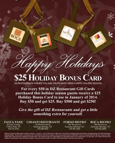 Boston Market Gift Card Bonus - updated gift card bonus offers forno circus cheesecake chilis and more