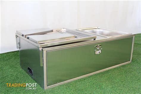 Kitchen Sink Royal Sb 50 stainless steel cer trailer kitchen 2 drawers sink interchangable bench shelf for sale in
