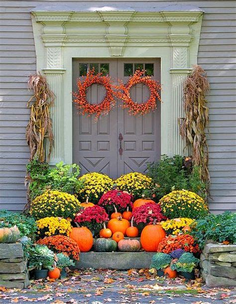 68 best fall outdoor decorating ideas images on