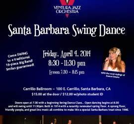 swing dance santa barbara ventura jazz orchestra