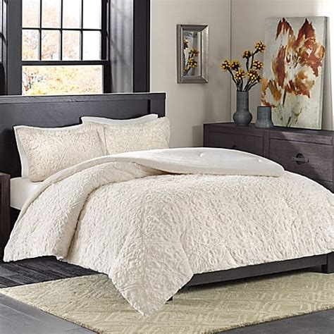 madison park bismarck ultra plush comforter set bed bath