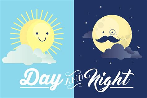 day clip day and vector illustrations creative market