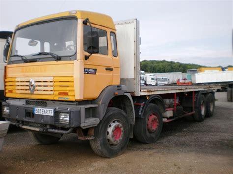 renault g340 ti maxter 8x4 platform open truck from