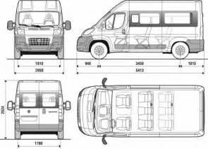 Fiat Ducato Maxi Dimensions The Blueprints Blueprints Gt Voitures Gt Fiat Gt Fiat