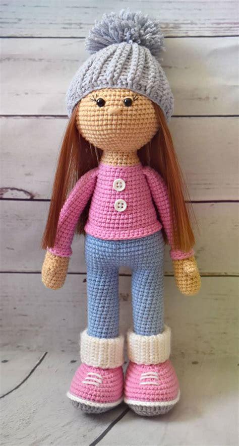 crochet doll molly doll crochet pattern amigurumi today