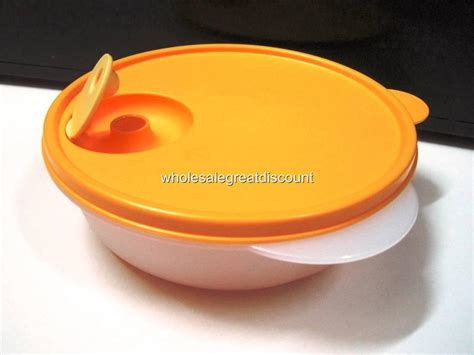 Tupperware Microwave Bowl new tupperware microwave reheatable crystalwave divided dish bowl lunch box ebay