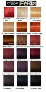 loreal color chart best 25 hair color charts ideas only on