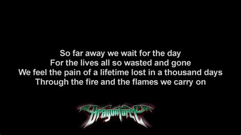 dragonforce through the fire and flames long version dragonforce through the fire and flames short version
