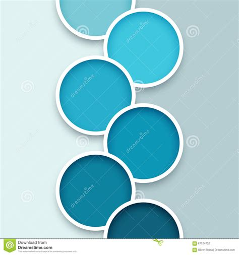 abstract circle background 1 stock vector image 67124752
