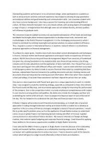 Smith Mba Essays by Statement Of Purpose Letter
