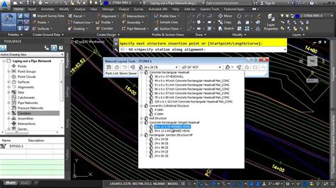 tutorial autocad civil 3d 2015 autocad civil 3d 2015 tutorial laying out a pipe network