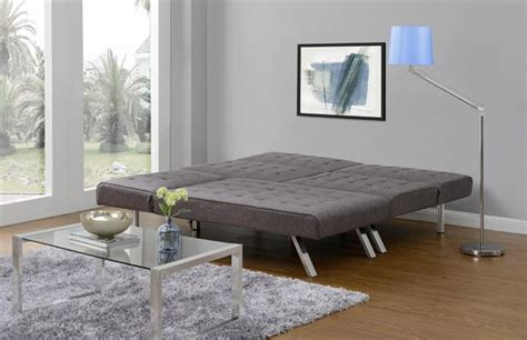 Large Futon Emily Convertible Futon Now Available In Grey