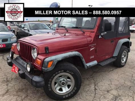 how to work on cars 1998 jeep wrangler on board diagnostic system used jeep wrangler under 8 000 for sale used cars on buysellsearch