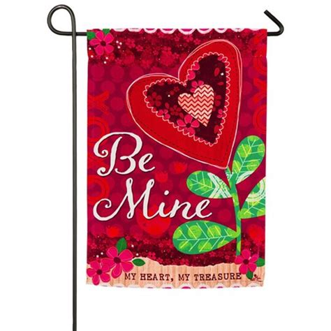 valentines garden flag be mine s day garden flag valentines day