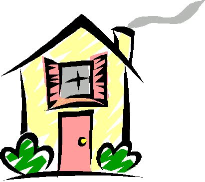 house animated houses homes and building clip art pictures
