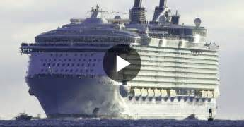 Largest Ship In The World video the largest cruise ship in the world is five times