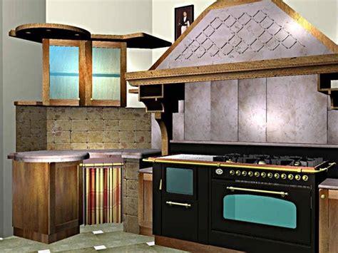 cappe per cucine rustiche cappe per cucine in muratura componenti cucina le