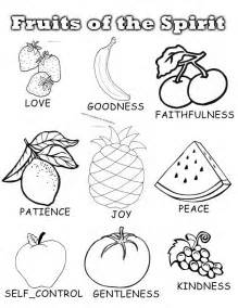 fruit of the spirit coloring pages the fruit of the spirit coloring pages coloring home