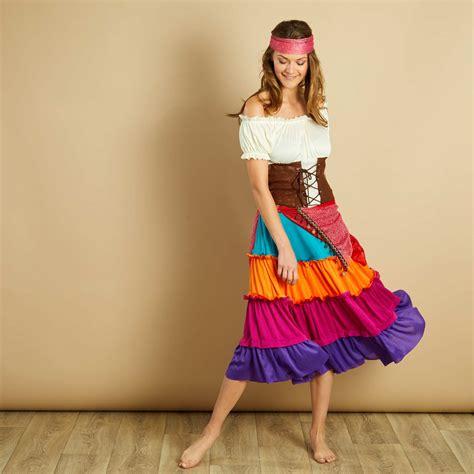 d 233 guisement de gitane femme multicolore kiabi 29 00