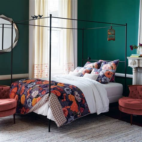 Anthropologie Bedroom Ideas do trials on colors in your bedroom with these simple