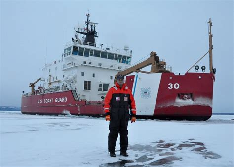 sinking boat icebreaker nothing s too thick for the great lakes only heavy ice
