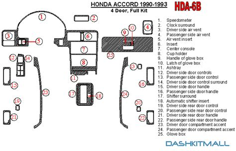 accident recorder 1989 maserati 228 parking system service manual remove the dash in a 1991 honda accord 94 97 accord gauge mounting options