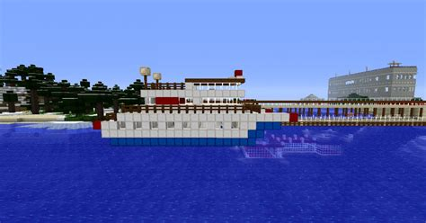 minecraft ferry boat mod simple ferry boat minecraft project