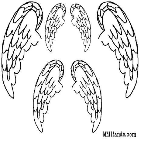 wings template free wings template for book page wings artsy pages