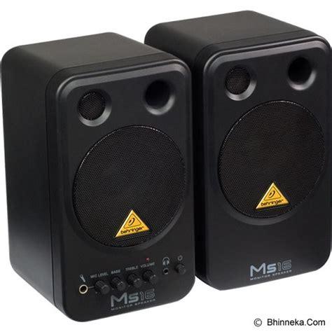 jual behringer monitor speaker system ms16 murah bhinneka