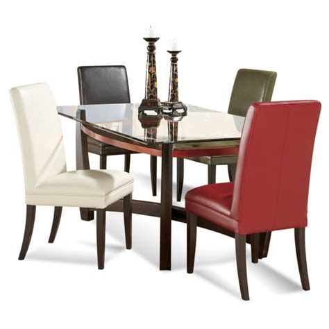 Rectangle Glass Dining Room Tables by Dining Room Glass Top Dining Room Tables Rectangular For