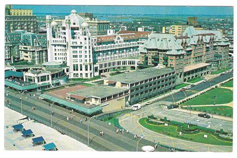 NJ Atlantic City Hotel Marlborough Blenheim Birds Eye View