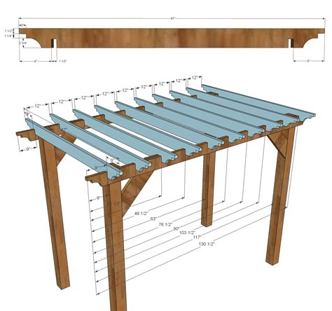 pergola rafter brackets outdoor goods