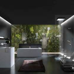 nature bathroom design relaxing nature bathroom design in black and white