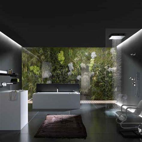 nature bathroom design relaxing nature bathroom design in black and white