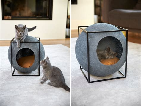 cat cube bed stylish cat bed for your modern home also provides jobs to people with disabilities