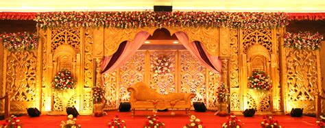 house decoration ideas for marriage wedding ideas gold theme stage decoration for marriage