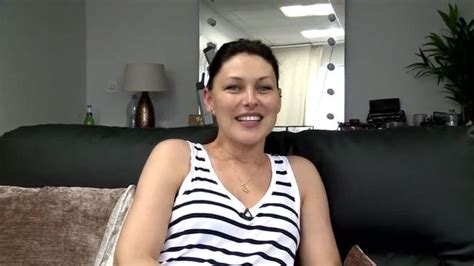 emma willis plays it safe in understated pale pink mini