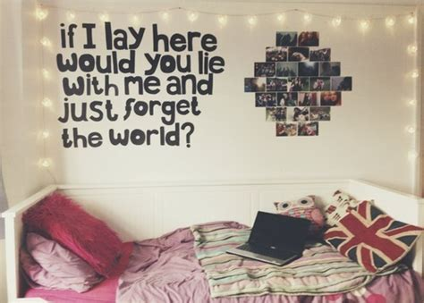 teenage bedroom quotes tumblr rooms