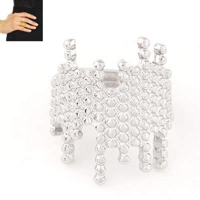 Cincin Korea Decorated Wing Shape Design 1 occident silver color irregular shape decorated simple design alloy korean rings asujewelry