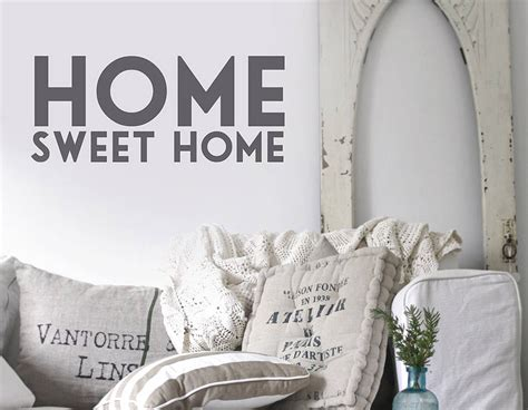 home sweet home wall stickers home sweet home wall sticker contemporary wall stickers