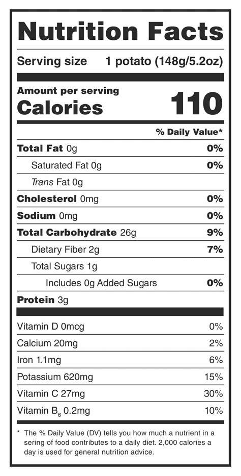 nutrition facts potato nutrition are potatoes healthy health benefits potatoes