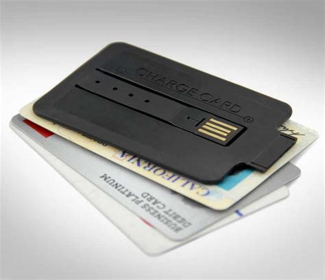 Credit Card Sized by Credit Card Sized Phone Charger
