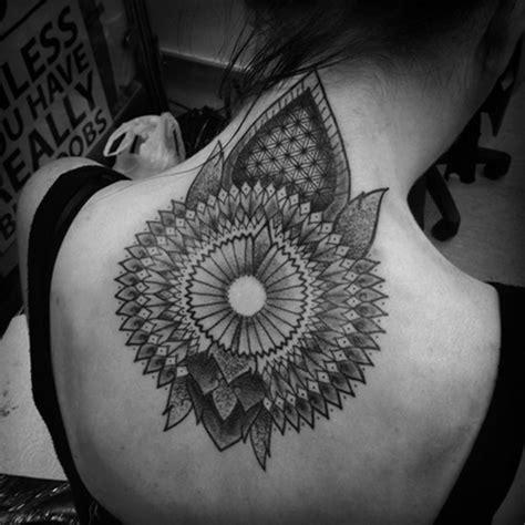 amorfush mandala black 100 tastefully provocative back tattoos for