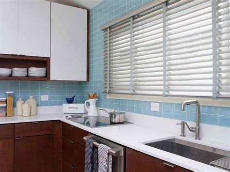 interior blue tile backsplash and brown wooden kitchen cabinet appliances loversiq kitchen magnificent blue kitchen color accent blue