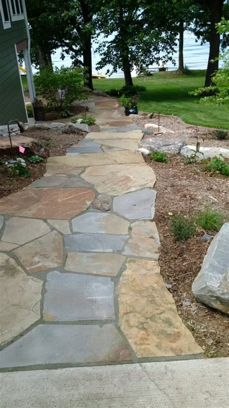 flagstone walkway duro rock supply