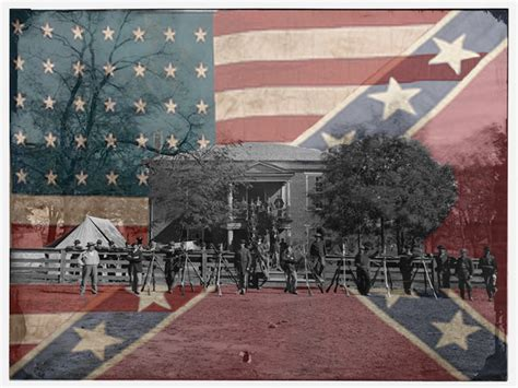 Civil War Backgrounds Wallpapersafari Civil War Powerpoint Template